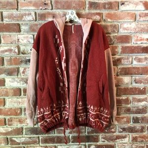 Free People hoodie sweater Sz small